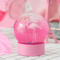 Originality 3D Flamingo Crystal Ball - HeyHouseCart