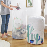 PEVA home organizer storage bag Clothes Packaging Toy packing Bag Quilt Closet organizer Clothing bag For Pillow Blanket Bedding - HeyHouse