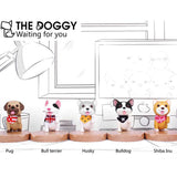 Customized Puppy Dog Phone Holder - HeyHouse
