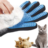 Silicone Pet Grooming Glove For Cats and Dogs - HeyHouse