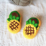 Baby Girls Crochet Handmade Knit Shoes Baby Shower Gifts - HeyHouse