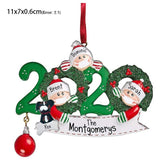 Personalized DIY Hanging Santa Claus