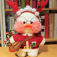 Cute LaLafanfan Cafe Duck Plush Toy Creative Birthday Gift for Girl - HeyHouse