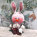 Lalafanfan CafeMimi Stuffed Duck Plush Dolls For kids
