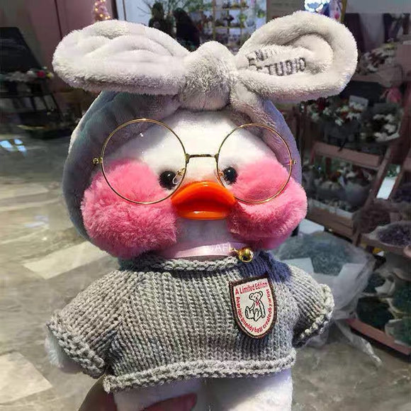 Cartoon Cute LaLafanfan Cafe Duck Plush Toys - HeyHouse