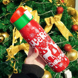 500ml Christmas Bounce Cover Thermos Bottle - HeyHouse