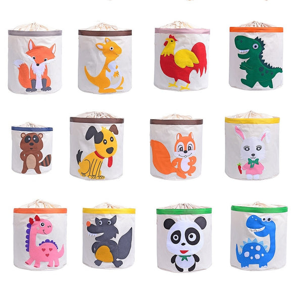 Cute Cartoon Animal storage bag for Kids Toys Organizer - HeyHouse