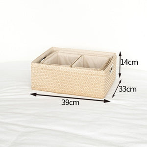 Home Storage Box Folder Cosmetic Stationnery Underwear Bra Storage Boxes Home Debris Clothing Storage Boxes - HeyHouse