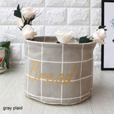 Small Laundry Basket For Toy Cartoon Storage Household Organizers - HeyHouse