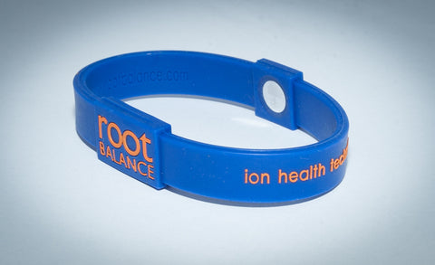 Balance Bracelet - Cobalt Blue & Orange
