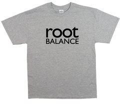 Gray Unisex T-Shirt w/ Black Logo
