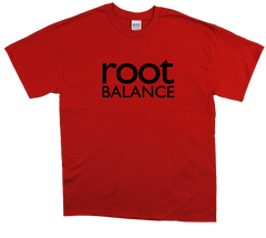 Red Unisex T-Shirt w/ Black Logo