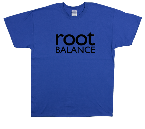Blue Unisex T-Shirt w/ Black Logo