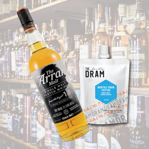 Arran The James MacTaggart Anniversary Single Malt Scotch Whisky TASTER (50ML)