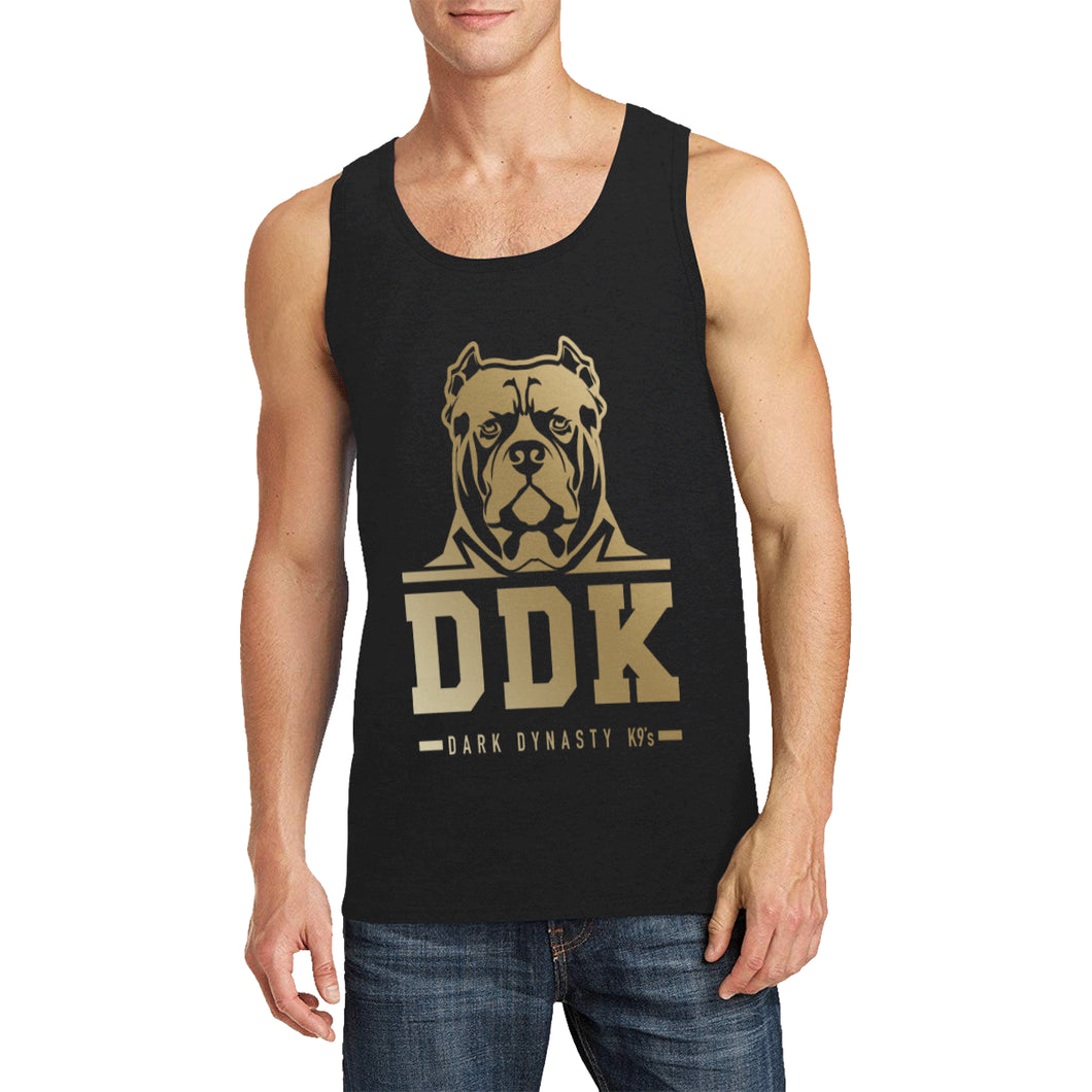 Gold and Black General Mens Tank