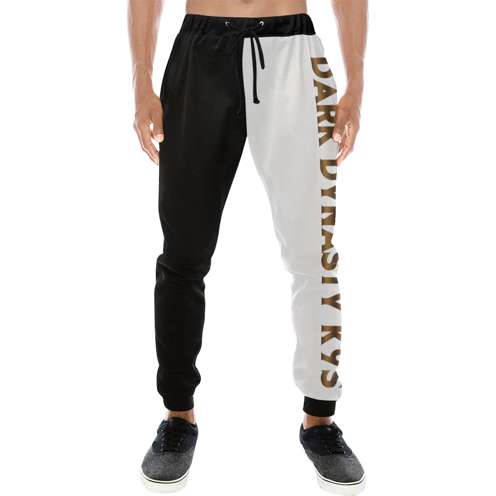 new product 6f47b 8902a Men s Mis-matched Black and White Sweatpants – DDKLine Apparel
