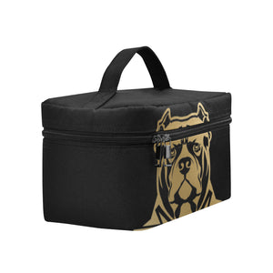 Black and Gold General Lunch Box