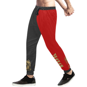 Black and Red Sweatpants