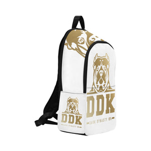 White and Gold Back Pack