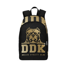Load image into Gallery viewer, Black and Gold Back Pack
