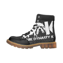 Load image into Gallery viewer, Men's Round Toe Black and White DDK Boots