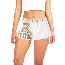 Load image into Gallery viewer, Women's White and Gold Shorts