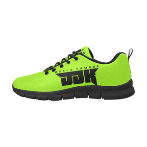 Mens world famous lime green shoes