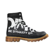 Load image into Gallery viewer, Women's Round Toe Black and White DDK Boots