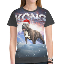 Load image into Gallery viewer, Womens DDK Kong Christmas Tshirt