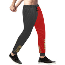 Load image into Gallery viewer, Black and Red Sweatpants