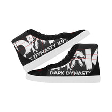 Load image into Gallery viewer, Women's High Top Casual Black and White DDK Shoes