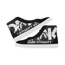 Load image into Gallery viewer, Men's High Top Casual Black and White DDK Shoes