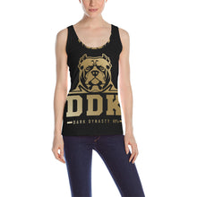 Load image into Gallery viewer, Black and Gold Women's Tank Top