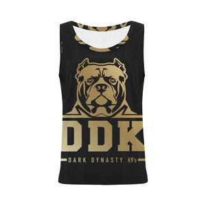 Black and Gold Women's Tank Top