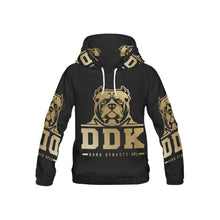 Load image into Gallery viewer, Black and Gold Kid's Hoodie