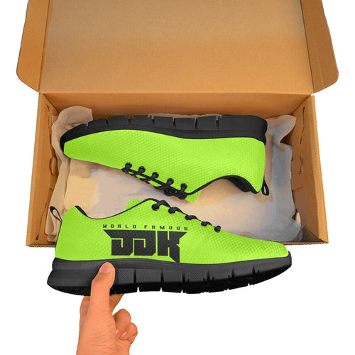 Womens world famous lime green shoes