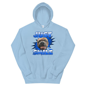 SMILE Unisex Hoodie (Different Colors)