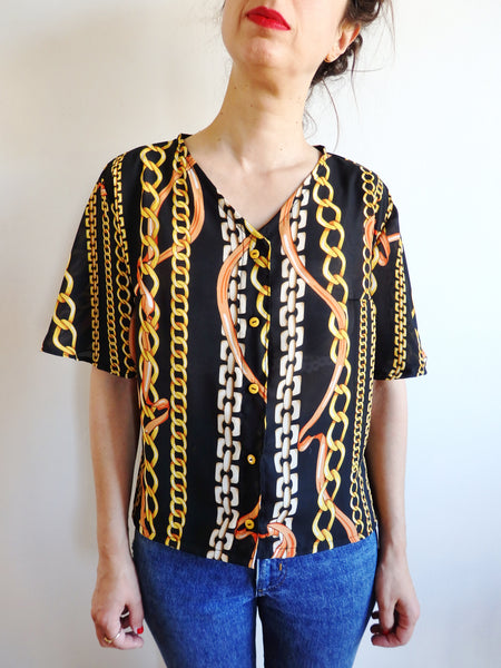 Camisa Handmade Chains