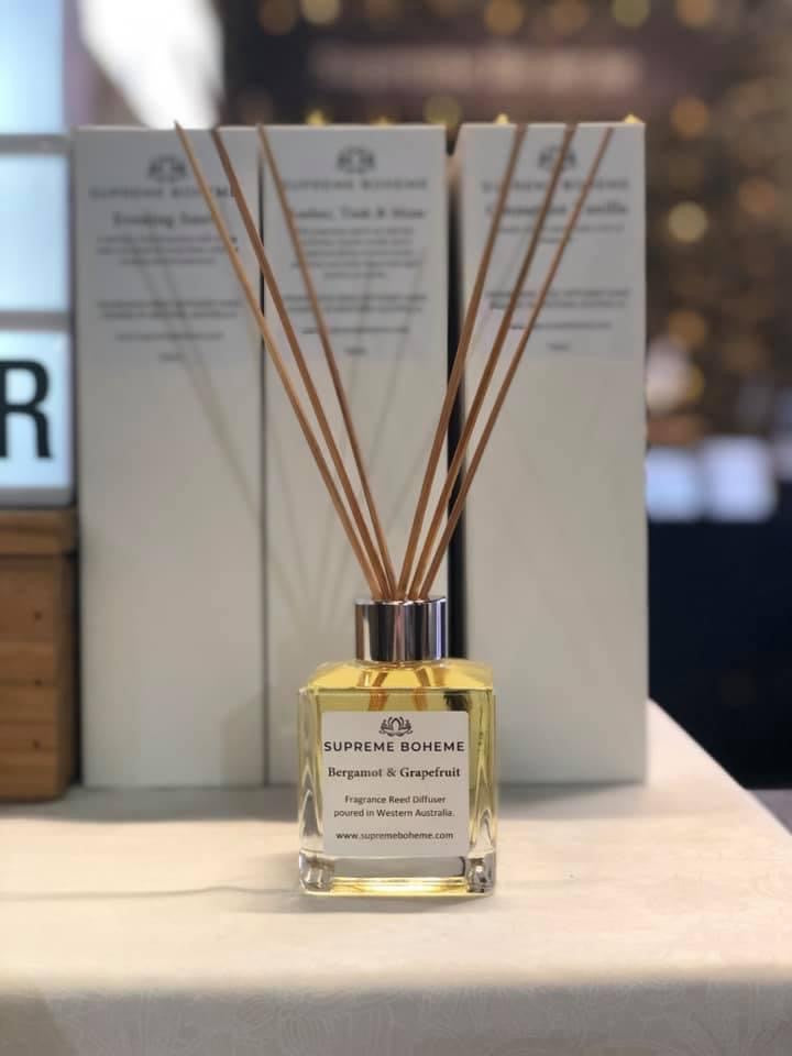 Bergamot & Grapefruit Reed Diffuser 140mls