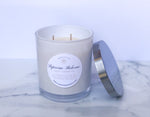 Sweet Lemongrass Scented Soy Candle