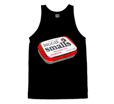 Biggie Smalls (Tank Top) Black
