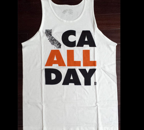 CA ALL DAY (Tank Top) White