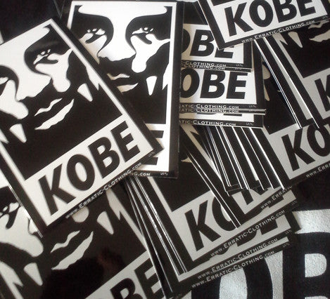 KobeY Stickers (24 per order)