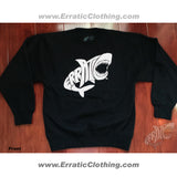 Erratic Shark (Learn To Swim) Crewneck