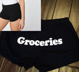 Groceries Shorts (Black/Black)