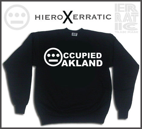 Hieroglyphics X Erratic OCCUPIED Crewneck