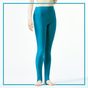 UV CUT LEGGINGS / TURQUISE