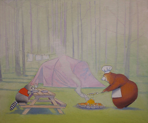 <s>The Adventures of Chirp and Grunt: Picnic in the Woods</s>
