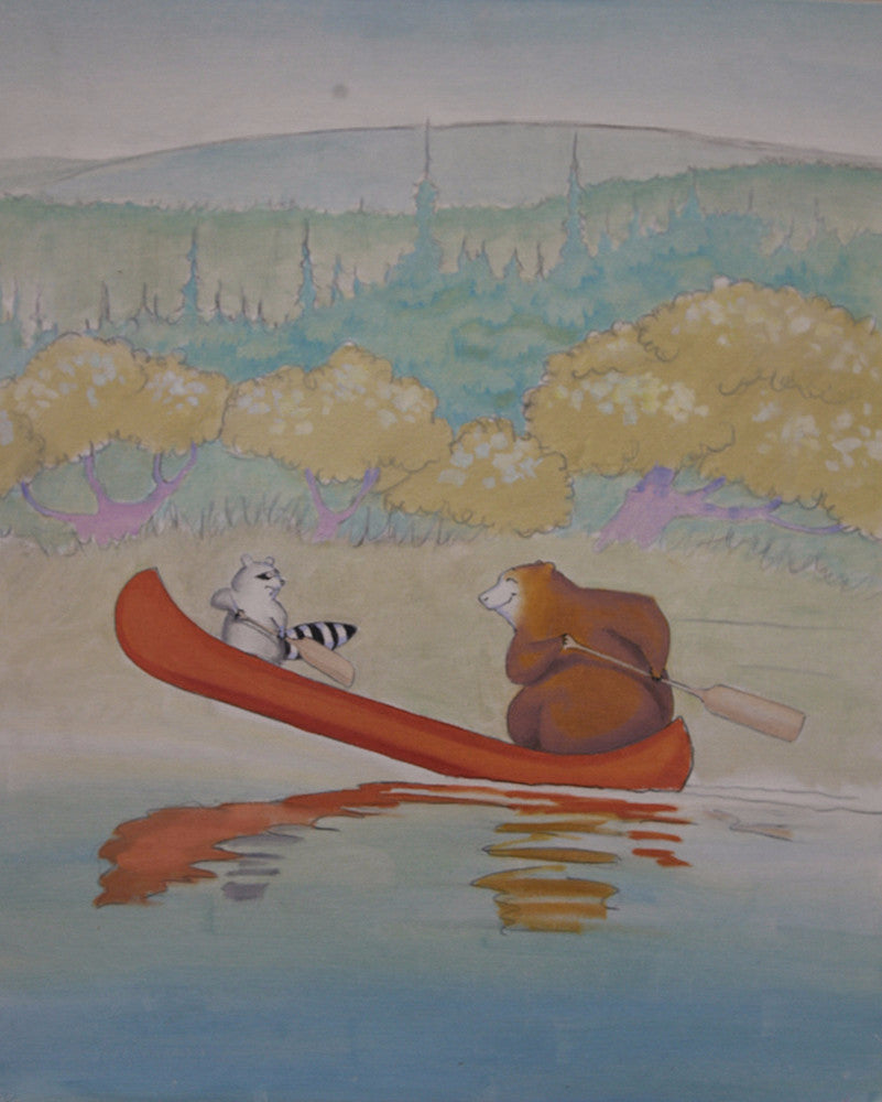 <s>The Adventures of Chirp and Grunt: Clumsy Canoeing</s>