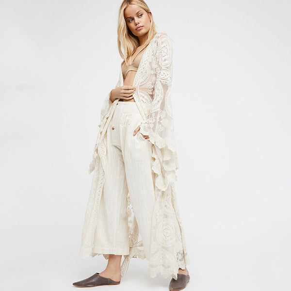 Lace Cover Up Beachwear 2019